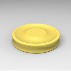 1.jpg Download free STL file Mini Frisbee • 3D printable template, 3DTechDesign
