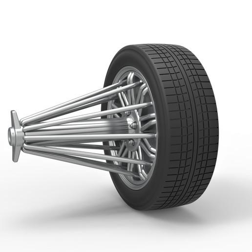 2.jpg Download STL file Diecast slab wheel Scale 1 to 10 • 3D print design, CosplayItemsRock