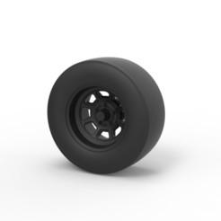 Download 3D printer model Diecast NASCAR wheel, DmK