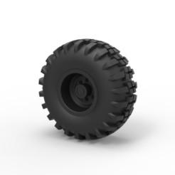 Modelos 3D para imprimir Diecast Offroad rueda 7, DmK