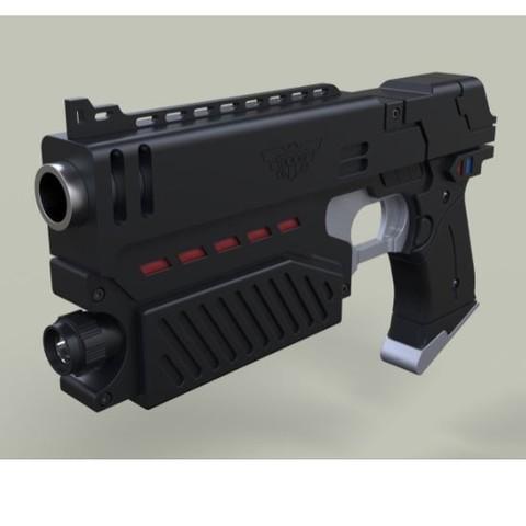 Télécharger modèle 3D Législateur du film Judge Dredd, 3DTechDesign