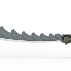 Download 3D printer model Super composite sword from the game Shadow Fight 2, 3DTechDesign