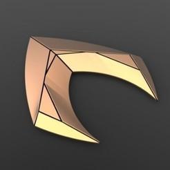Descargar modelo 3D Logotipo de Aquaman, DmK