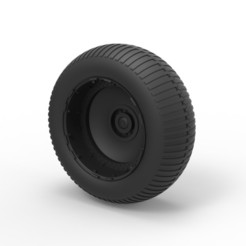 Download 3D printing designs Diecast Wheel from Bigfoot 5, 3DTechDesign