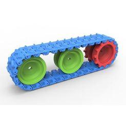 1.JPG Télécharger fichier STL Piste pour modèles de jouets • Objet pour imprimante 3D, 3DTechDesign