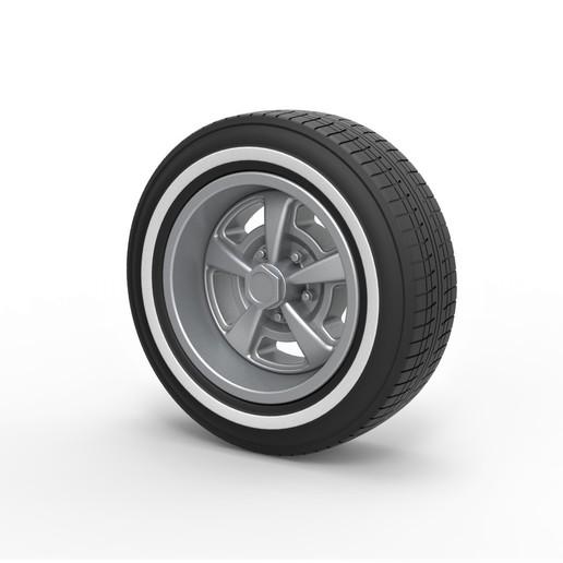 Descargar modelo 3D Rueda deportiva de Diecast 9, 3DTechDesign