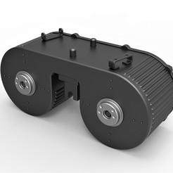 Descargar archivo STL Tambor doble Cosplay de MG 15 • Plan de la impresora 3D, 3DTechDesign