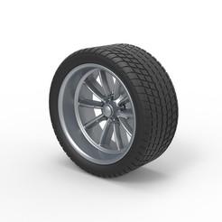 Download STL files Diecast Sport wheel 10, 3DTechDesign