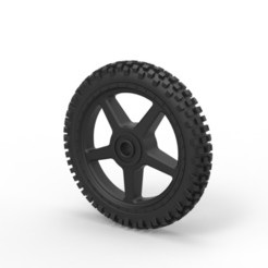 Download 3D print files Diecast Offroad wheel 12, 3DTechDesign
