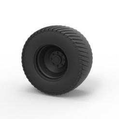 1.jpg Télécharger fichier STL Roue arrière moulée sous pression du tracteur tracteur de traction • Modèle pour impression 3D, CosplayItemsRock