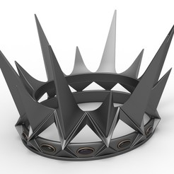 Download 3D printer templates Crown of Ravenna from the movie Snow White and the Huntsman 2012, 3DTechDesign
