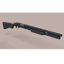 3D print files Remington 870 from movie Terminator 3, DmK