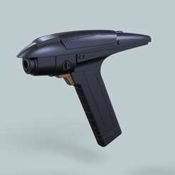 1.jpg Download STL file Phaser from Star Trek Discovery Section 31 • 3D printing template, 3DTechDesign