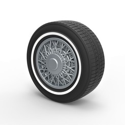 1.jpg Download STL file Diecast wire wheel 2 Scale 1 to 10 • 3D printable design, 3DTechDesign