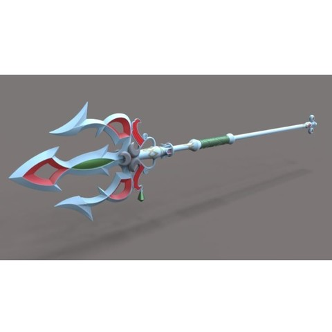 3D print model Lightscale trident from the game Legend of Zelda, DmK