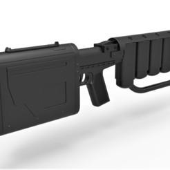 Descargar STL El rifle EMP de la película El Caballero Oscuro se levanta, 3DTechDesign