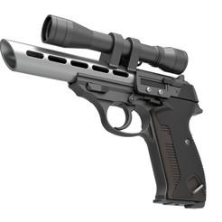 2.jpg Télécharger fichier STL Pistolet Moff Gideon Blaster de la série télévisée The Mandalorian • Design imprimable en 3D, 3DTechDesign