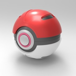 Télécharger fichier 3D Pokeball, DmK
