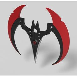 Download STL Batarang from the game Batman Arkham Knight, DmK