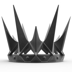 Download 3D printer model Black Crown of Ravenna from the movie Snow White and the Huntsman 2012, 3DTechDesign