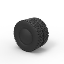 Modelos 3D para imprimir Diecast Rueda doble 2, DmK