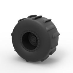 Descargar STL Diecast Rueda de lodo, 3DTechDesign