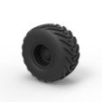 Descargar STL Diecast Offroad rueda 6, 3DTechDesign