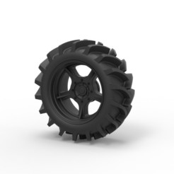 Download 3D printing files Diecast Offroad wheel 27, 3DTechDesign
