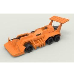 Descargar modelos 3D para imprimir Diecast modelo Eliminator del juego Thunder Road Scale 1:43, DmK