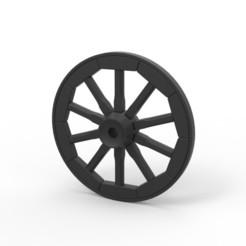 1.jpg Télécharger fichier STL Roue de wagon moulée sous pression • Plan à imprimer en 3D, CosplayItemsRock