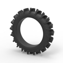 1.jpg Download STL file Diecast tire for swamp buggy • 3D printer design, 3DTechDesign