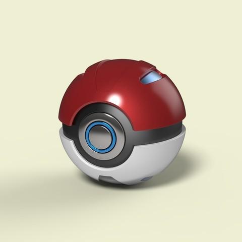 3D printer files Pokeball 2, DmK