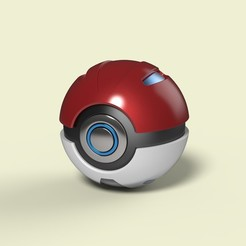 Télécharger plan imprimante 3D Pokeball 2, DmK