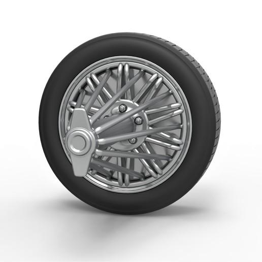 5.jpg Download STL file Diecast slab wheel Scale 1 to 10 • 3D print design, CosplayItemsRock