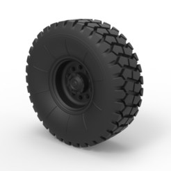 3D print files Diecast Offroad truck wheel 2, DmK