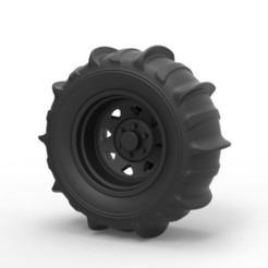 3D printer models Diecast Wheel for sand, DmK