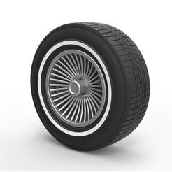 1.jpg Download STL file Diecast Car wheel 4 • 3D print model, 3DTechDesign