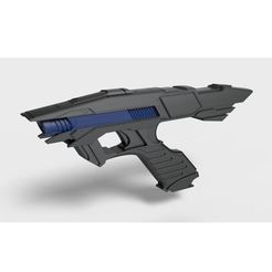 Download STL file Vengeance Phaser from the movie Star Trek Into Darkness, DmK