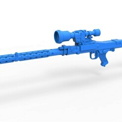 1.jpg Download STL file Stormtrooper Heavy Blaster Rifle DLT-19X Scale 1 to 6 • 3D printing object, CosplayItemsRock
