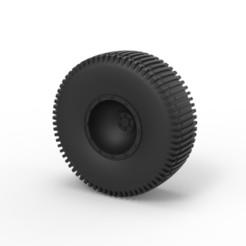 Diseños 3D Diecast Offroad rueda 28, DmK