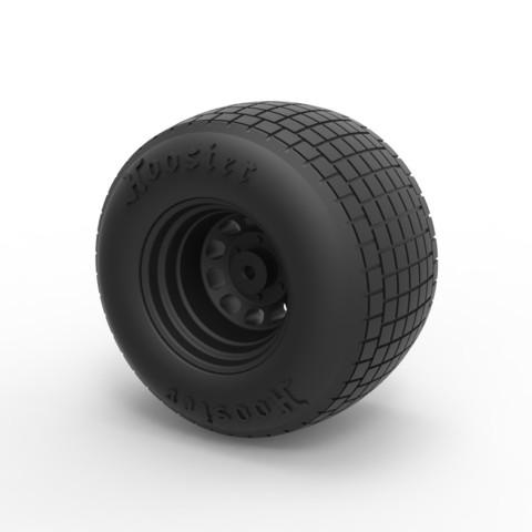 Impresiones 3D Rueda Diecast de Batpod, 3DTechDesign