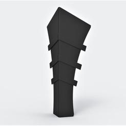 Impresiones 3D Armadura de la espinilla de Batman 1989, DmK