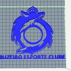 Télécharger fichier STL Cruzeiro Esporte Clube, mbrabelo92