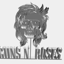3D printer models Guns n Roses , mbrabelo92