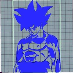 Descargar archivos 3D Goku - Ultra Instinto, mbrabelo92