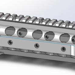urx3 3.png Download STL file KAC URX3 RAIL Knight's Armament • 3D print design, Model_Lover