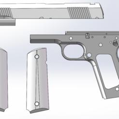 1.png Download free STL file M1911/A1 KITS • Design to 3D print, Model_Lover