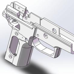 frame 2.png Download free STL file P228 PISTOL FRAME • 3D printable object, Model_Lover