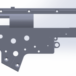 gearbox v2 2.png Download STL file AIRSOFT GEARBOX V2 • 3D printer object, Model_Lover