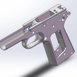 frame 2.png Download free STL file M1911/A1 FRAME • 3D printing object, Model_Lover